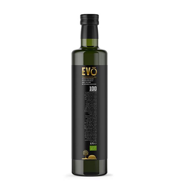Olio Extravergine di Oliva Biologico 100% Italiano 0,75l