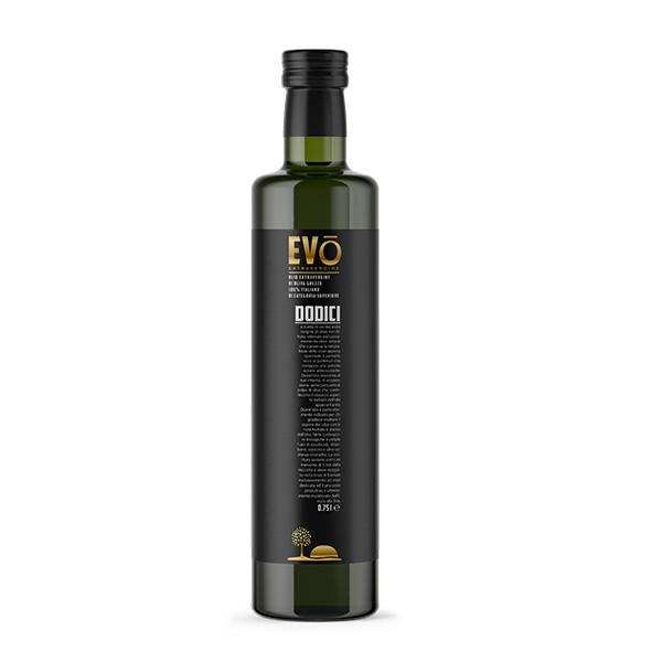 Olio Extravergine di Oliva Grezzo 100% Italiano 0,75l