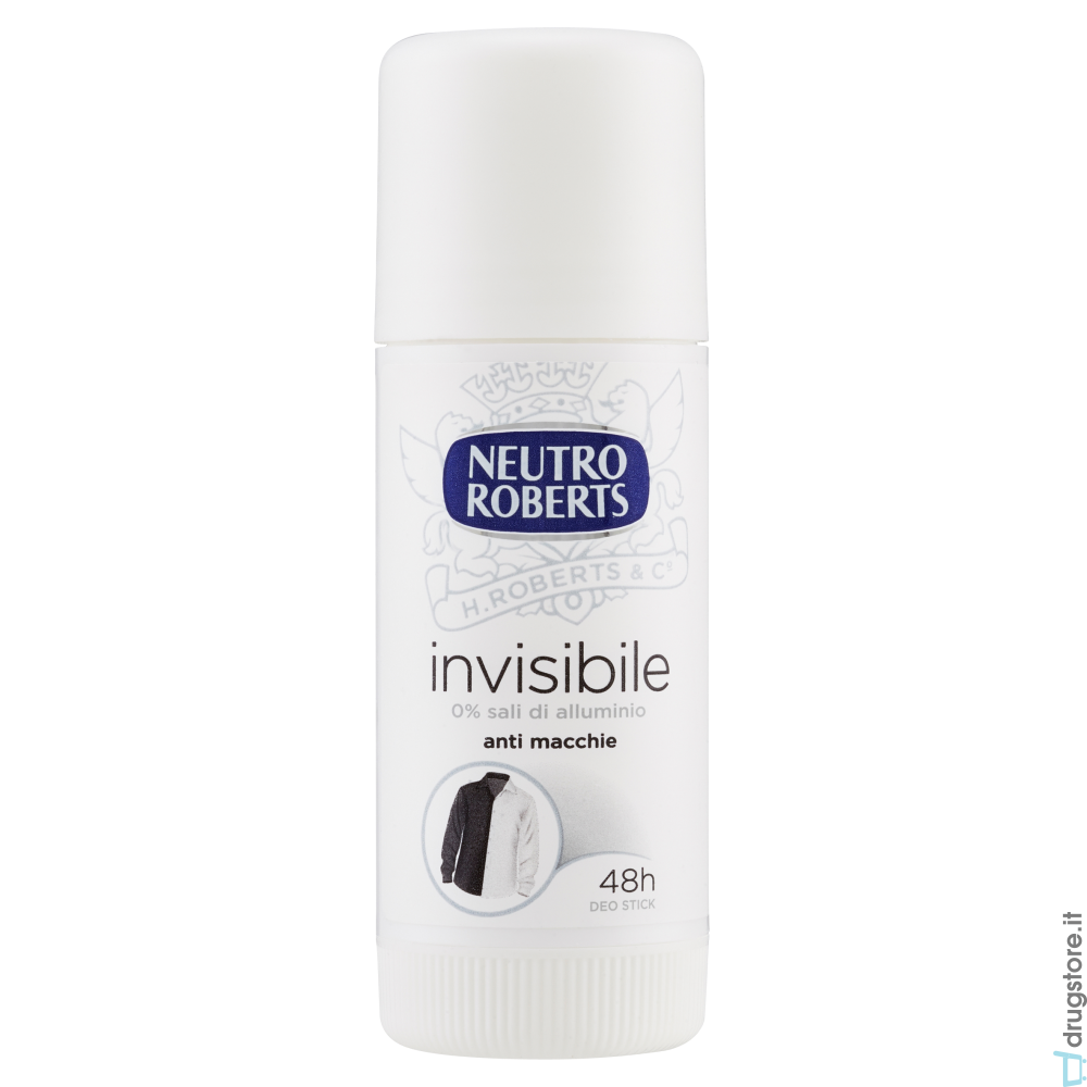 NEUTRO ROBERTS Invisible Deodorante Stick 40ml