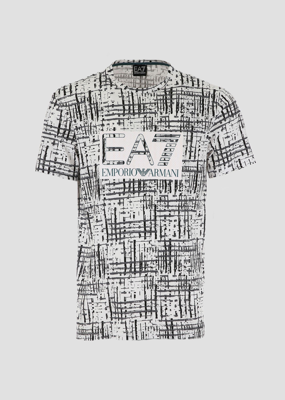 T-shirt uomo ARMANI EA7 con stampa grafica