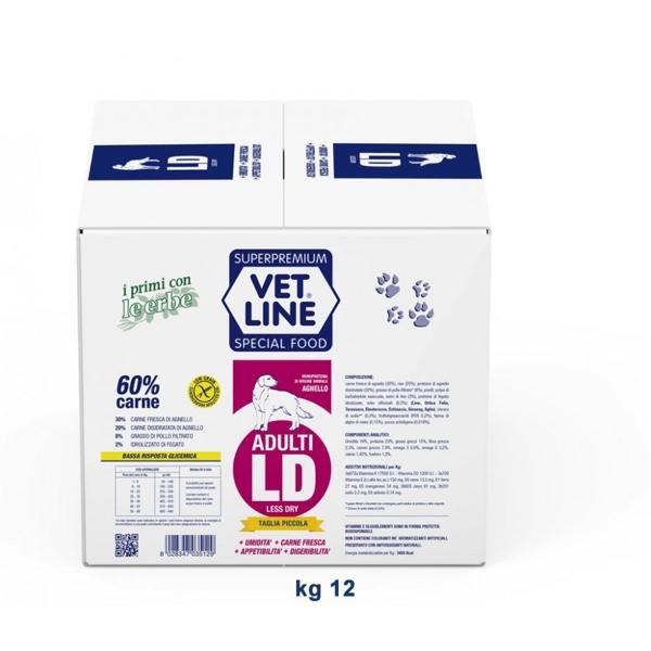 Vet Line Adulti LD Agnello 12  kg