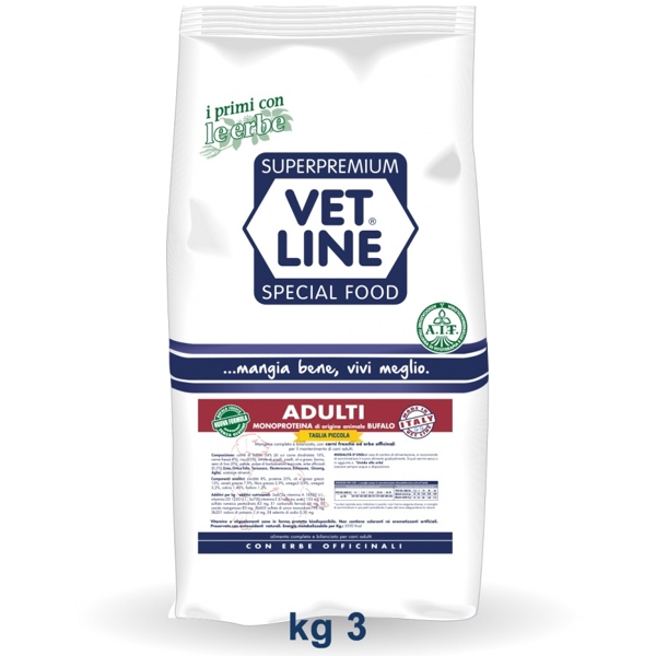 Vet Line Adulti Bufalo 3 Kg