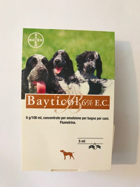 Bayticol 6% concentrato da 5 ml.