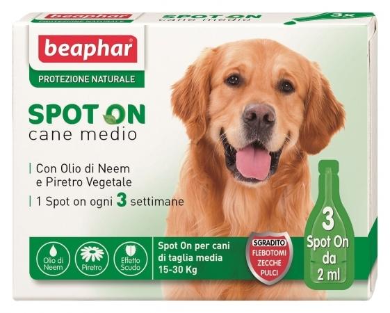Beaphar per cani di peso tra 15-30  kg3 fialette.