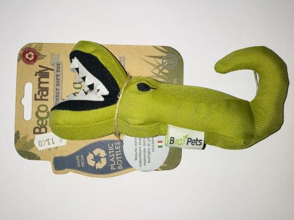 Beco Family  Aretha the alligator small  Gioco in plastica riciclata