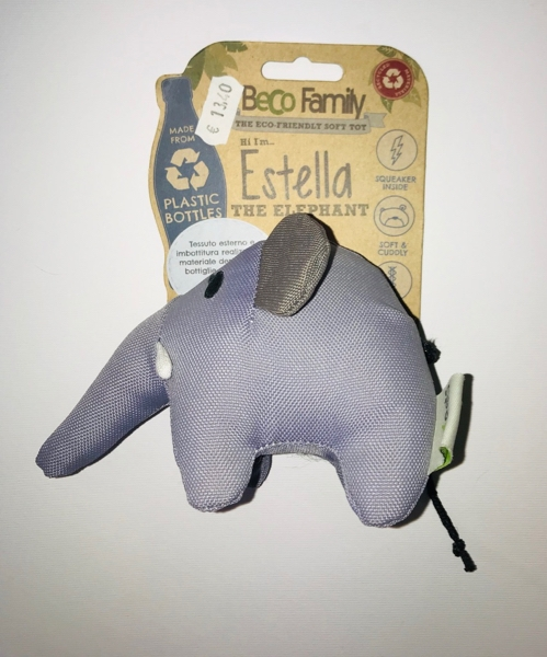 Beco Family Estella the elephant  medium Gioco in plastica riciclata