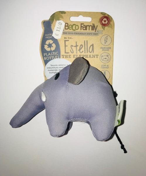Beco Family Estella the elephant small Gioco in plastica riciclata