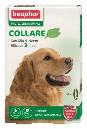 Collare Antiparassitario Beaphar  protezione naturale per cani 65 cm