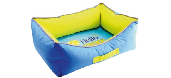 Cooling Bed cuccia morbida con cuscino per cani refrigerante fantasia Hello summer