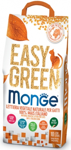 Easy Green mais Lettiera vegetale per gatti 10 l