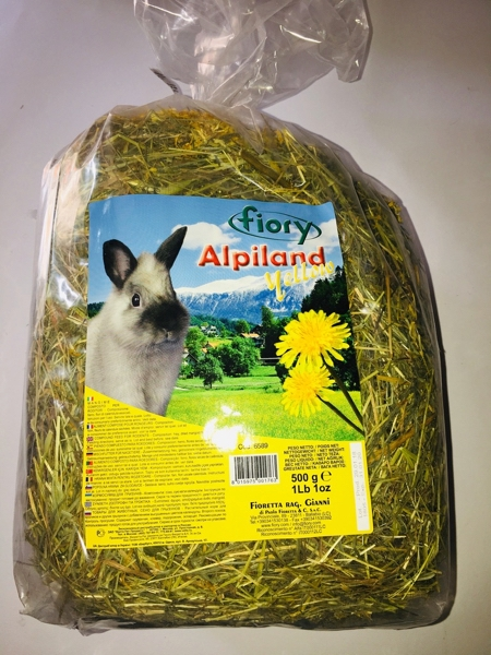 Fiory Alpiland yellow 500 gr