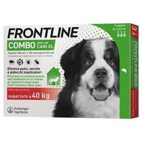 Frontile Combo per Cani di peso sup 40  kg 3 pipette da 0,67 ml