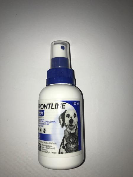 Frontile spray per Cani e gatti  100 ml