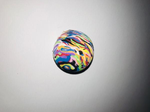 Imac Pawise morbida pallina colorata in spugna multicolor diametro 1,5 cm