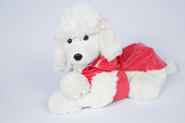 Impermeabile per cani a Pois Fuss Dog  Taglia 39/55/60/70/80 cm