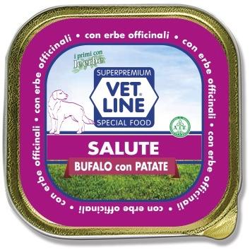 Mangime umido Salute bufalo con patate 150 gr VetLine
