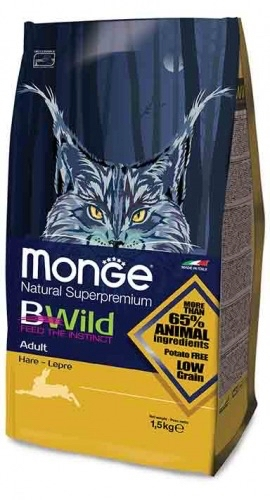 Monge BWild Low Grain  Lepre adult 1,5 kg