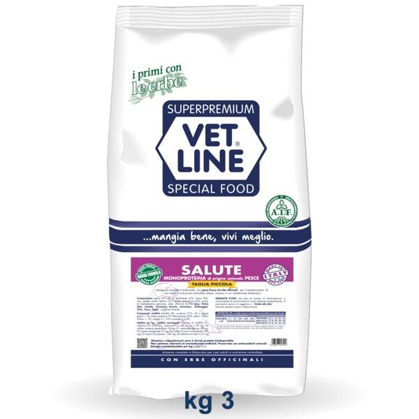 Vet Line Salute Monoproteico Cervo  Taglia piccola 3 Kg