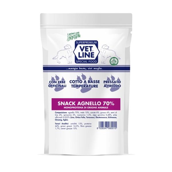 snack agnello Vet Line  80 gr