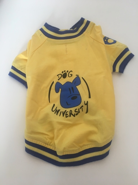 T-shirt  per cani Dog university