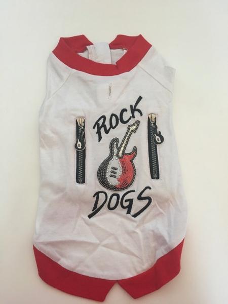 T-shirt  per cani Rock dogs  linea Vanity