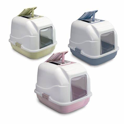Toilette Easy Cat colori assortiti Dimensioni: 50cm x 40cm x 40cm (h)