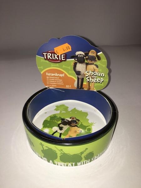 Trixie Ciotola in ceramica  Shaun The sheep 0,3 l