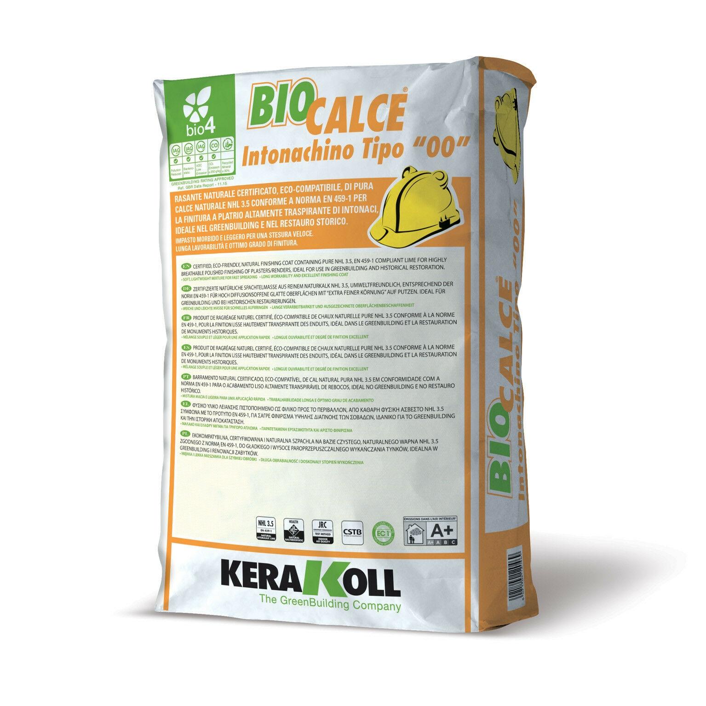 Kerakoll biocalce intonachino tipo 00 kg20