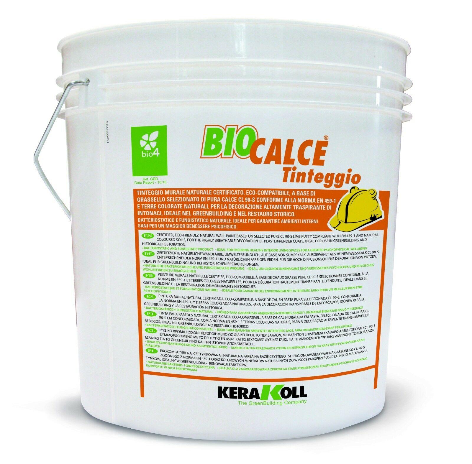Kerakoll biocalce tinteggio bianco 4 litri