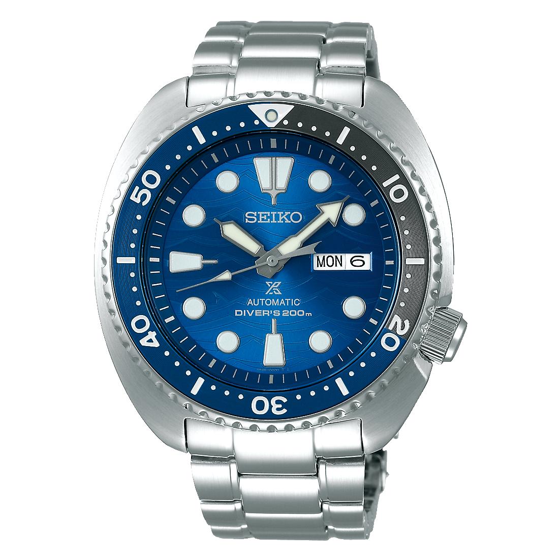 OROLOGIO SEIKO SRPD21K1 SAVE THE OCEAN GREAT WHITE SHARK