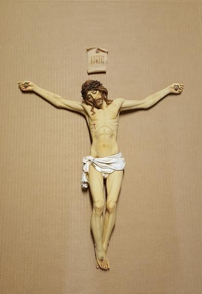 Corpo cm. 45 resina dipinto