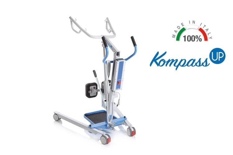 Verticalizzatore Kompass con attuatore Timotion