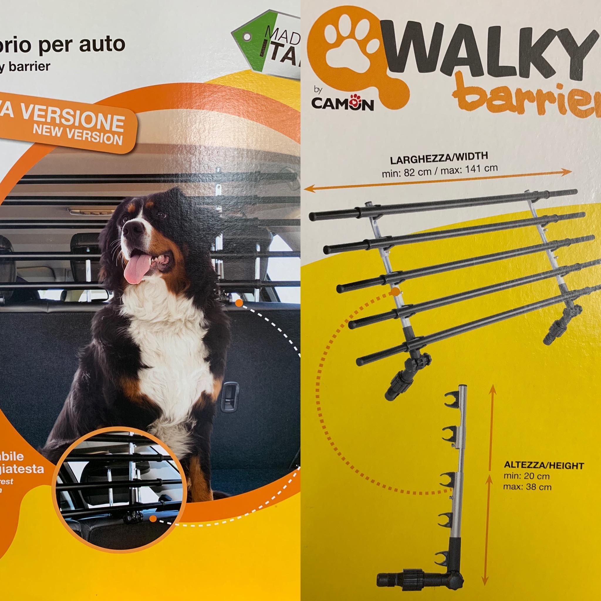 WALKY BARRIER divisorio regolabile per auto
