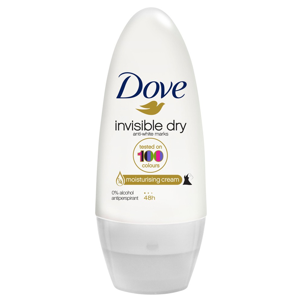 DOVE deodorante roll on invisible dry 50 ml