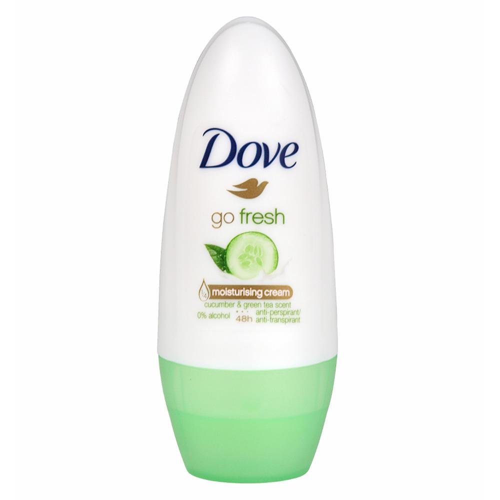 DOVE deodorante roll on go fresh Cetriolo e Tè verde 50 ml