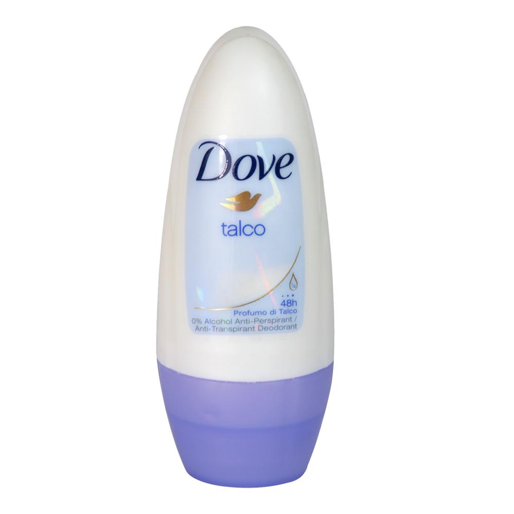 DOVE deodorante roll on talco 50 ml