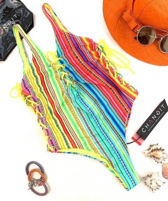 Monokini Rainbow Changit