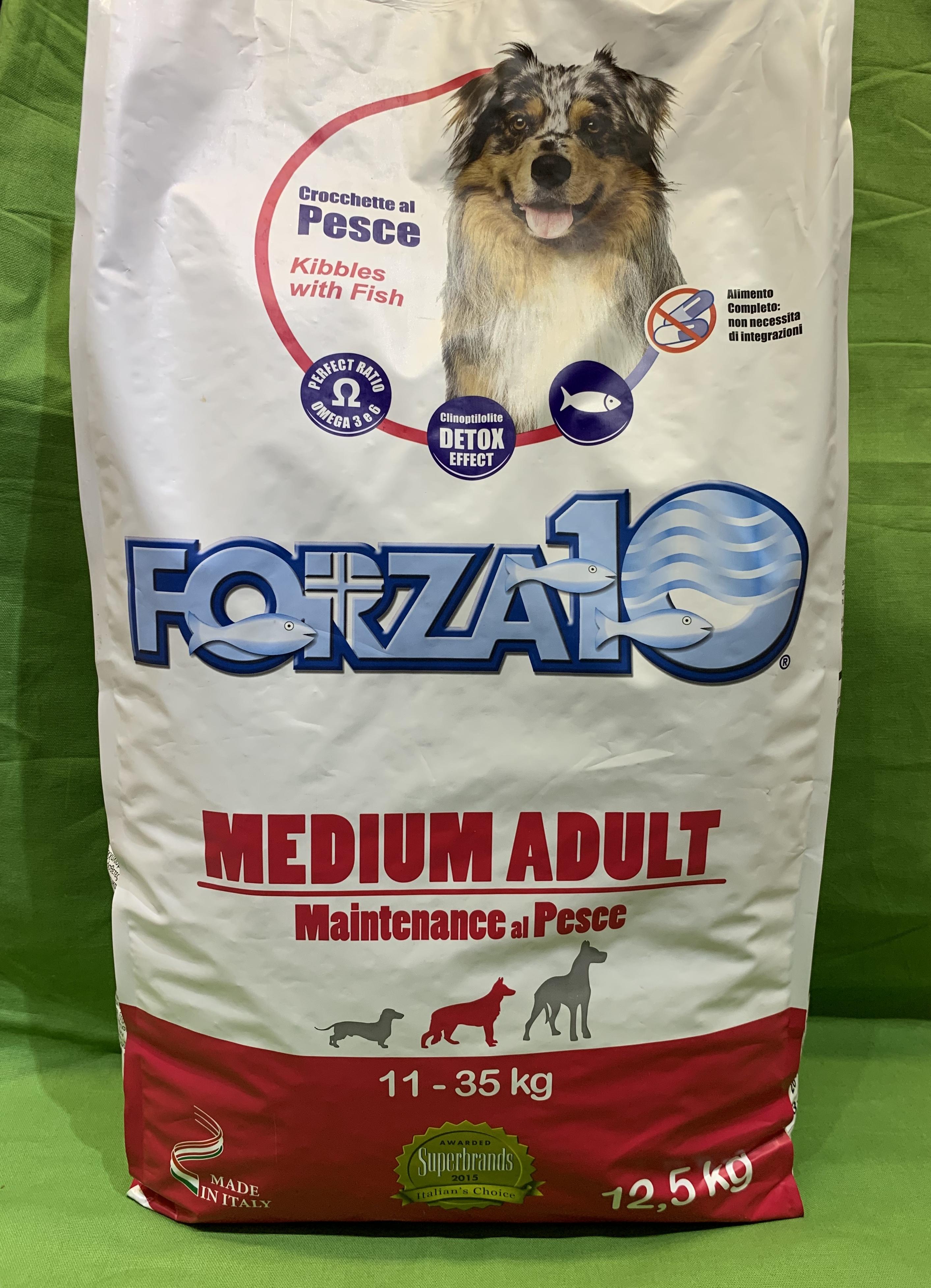 FORZA 10 MEDIUM ADULT 12.5kg