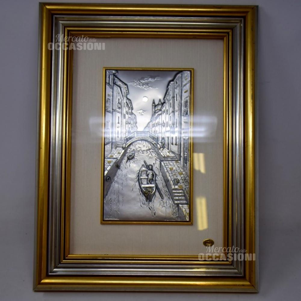 Quadretto Venezia In Argento