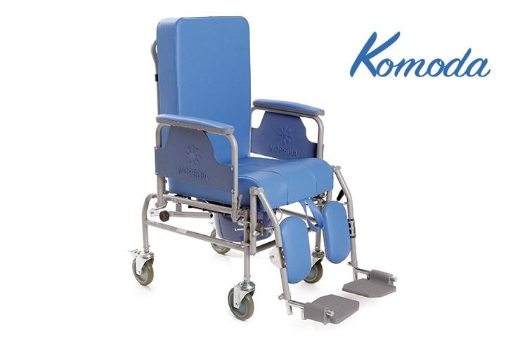 Sedia comoda con schienale ribaltabile