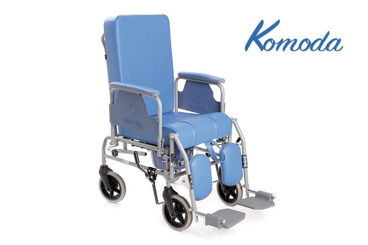 Sedia comoda ribaltabile - ruote 20 cm