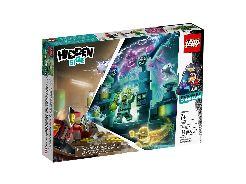LEGO HIDDEN SIDE IL LABORATORIO SPETTRALE 70418