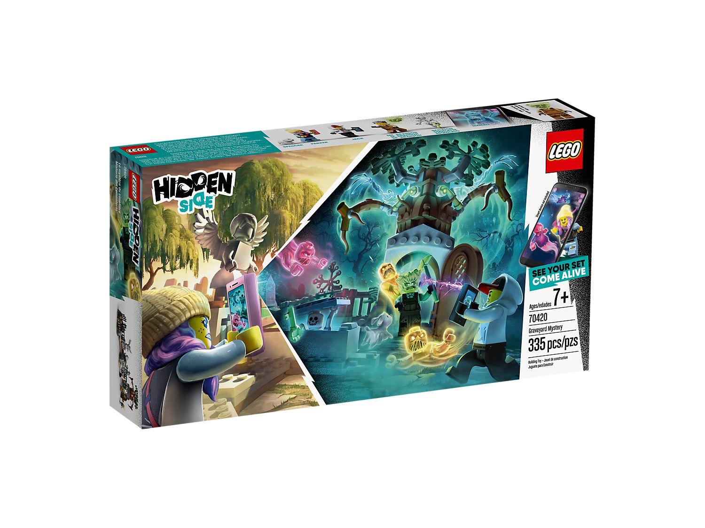 LEGO HIDDEN SIDE MISTERO NEL CIMITERO 70420