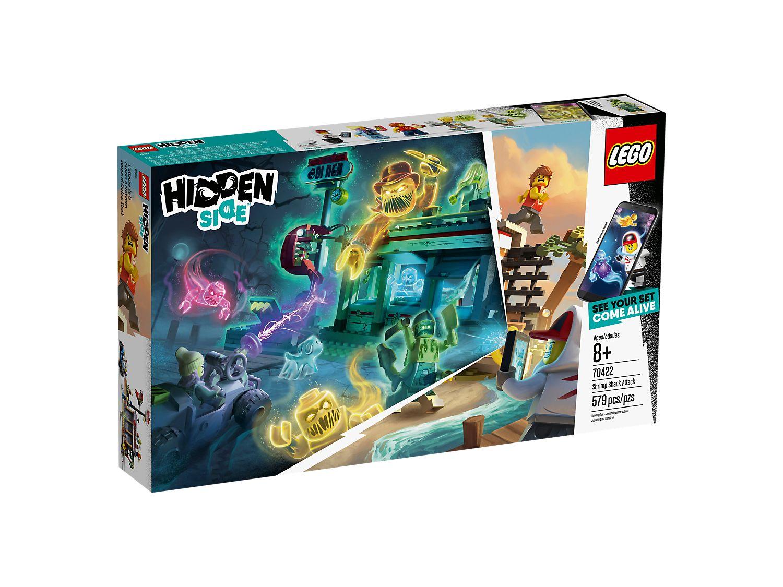 LEGO HIDDEN SIDE ATTACCO ALLA CAPANNA DEI GAMBERETTI  70422