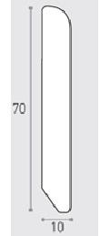 MM 70X10 ML 3.00  - BATTISCOPA PINO VN.