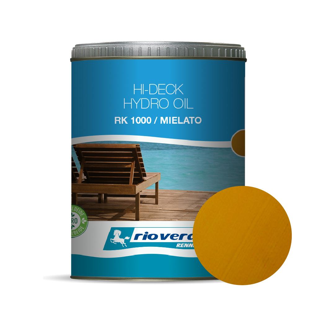 HYDRO OIL PER DECKING ACQUA TRASP. MIELATO LT. 2.5