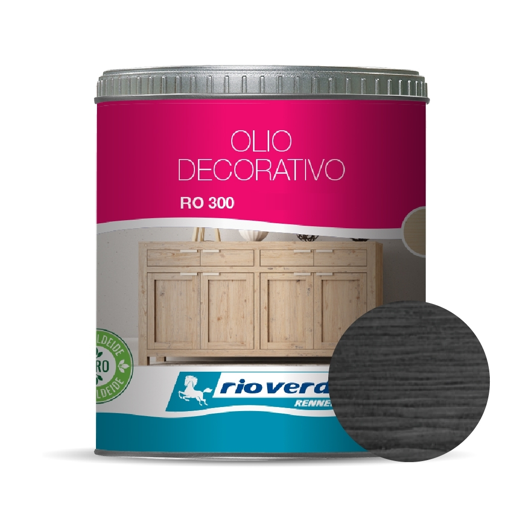 OLIO DECORATIVO - ANTRACITE LT. 0.5