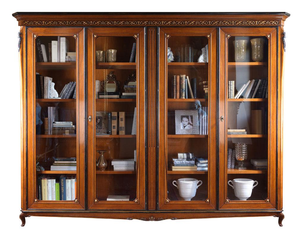 Libreria 4 ante da parete