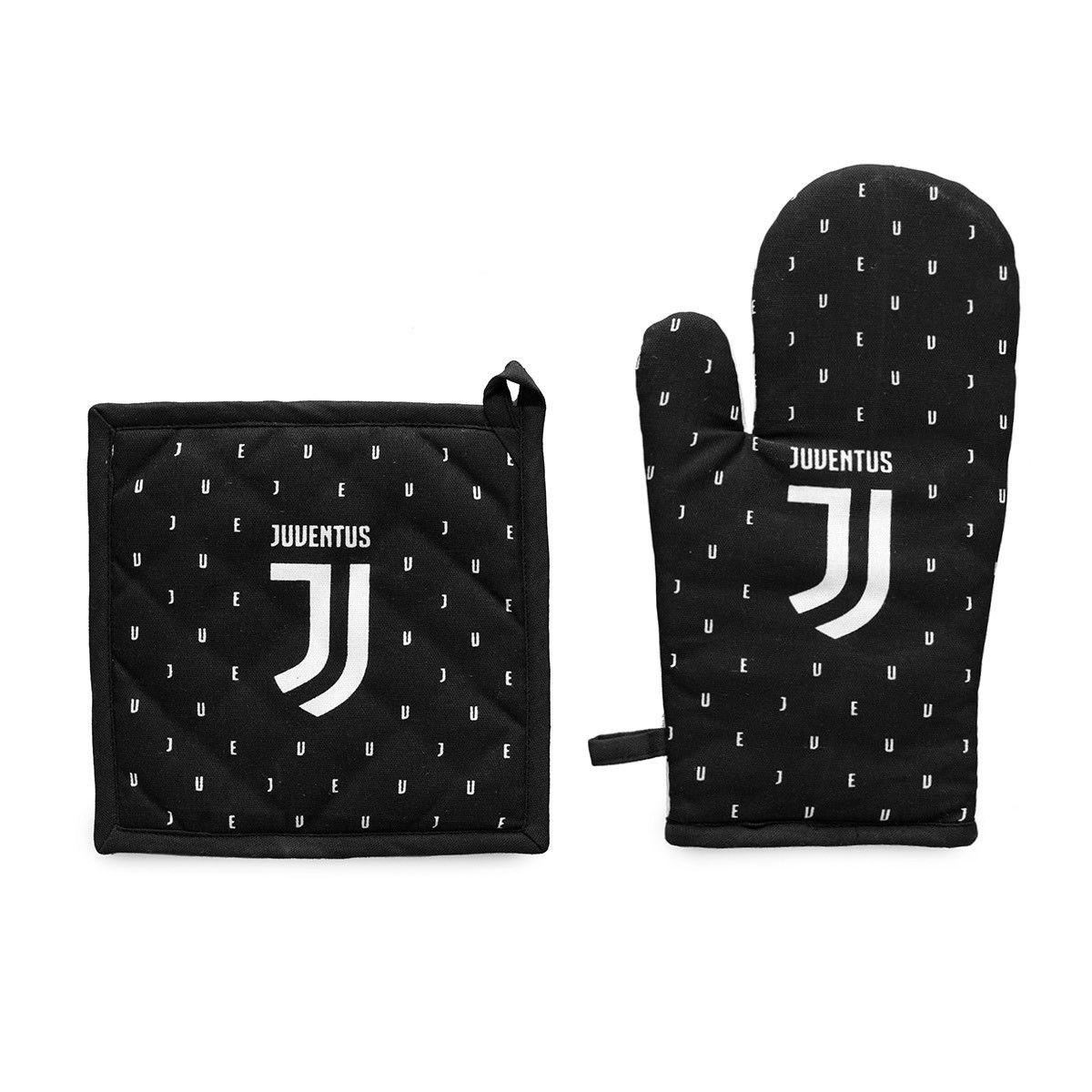 Guanto da forno e presina Juventus