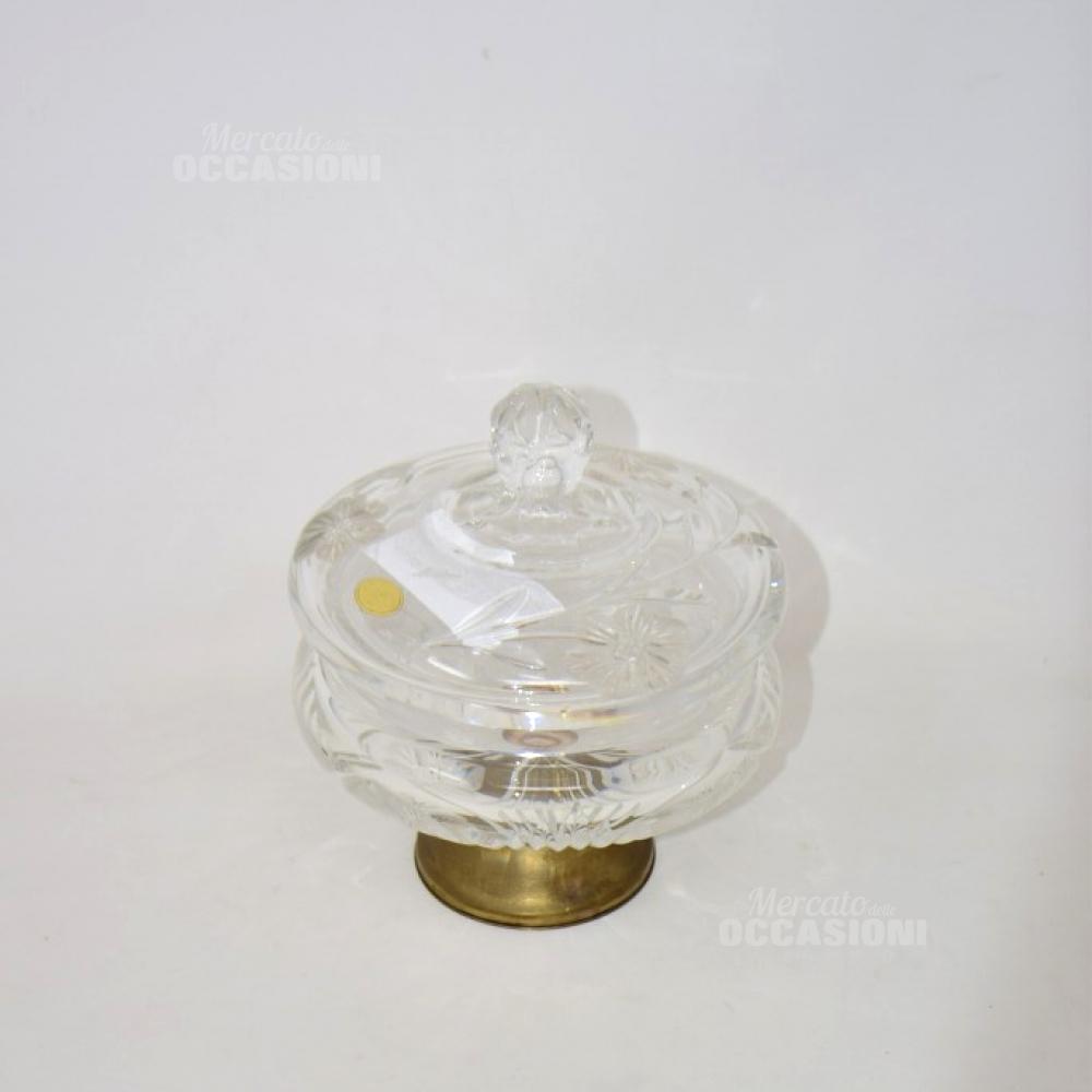 Porta Caramelle In Cristallo Alzatina